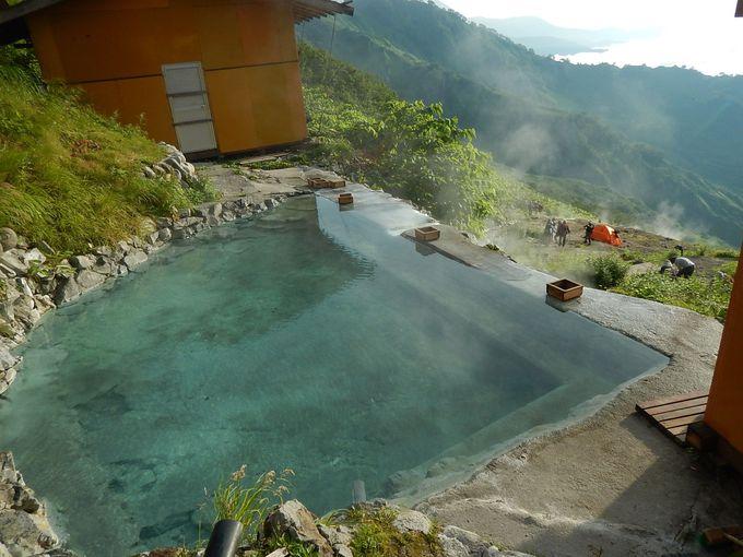 白馬鑓温泉で一泊