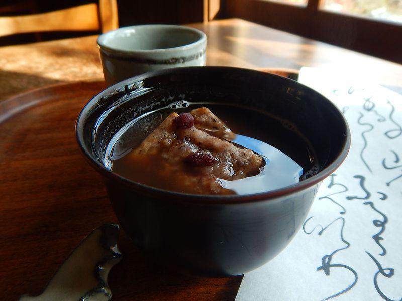 お福もちぜんざいを食べに京都・吉田山に行こう!