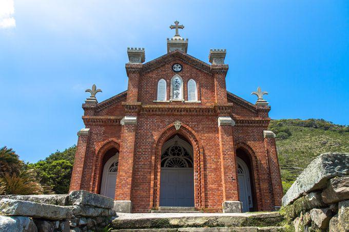100年を超える時を丘から見下ろす祈りの場