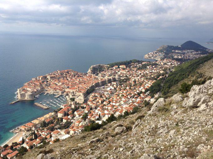 アドリア海に面した真珠のような街
