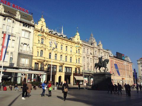 クロアチアのコンパクトな首都、ザグレブ