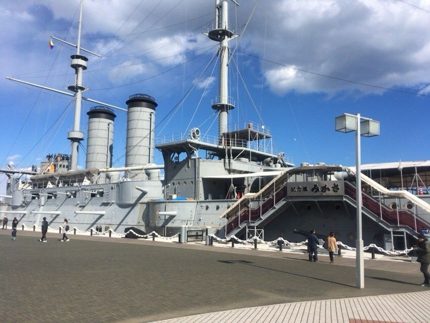 横須賀港で外せない観光スポット「記念艦三笠」