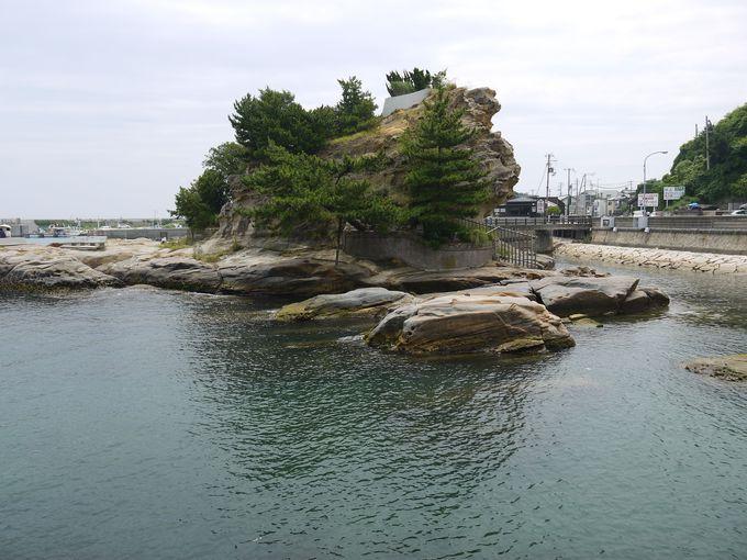 ここが『古事記・日本書紀』の国生み神話で登場する「おのころ島」