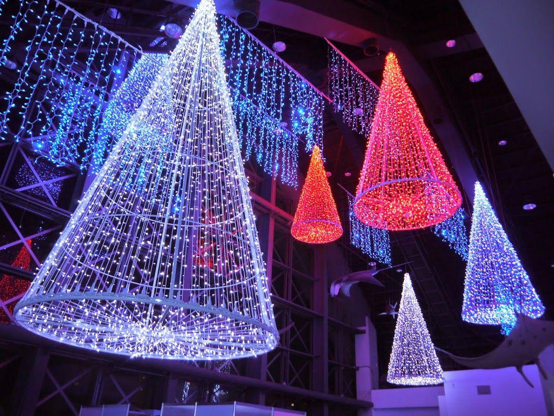 日本初登場!須磨海浜水族園のアクアイルミナージュで幻想的な夜♪