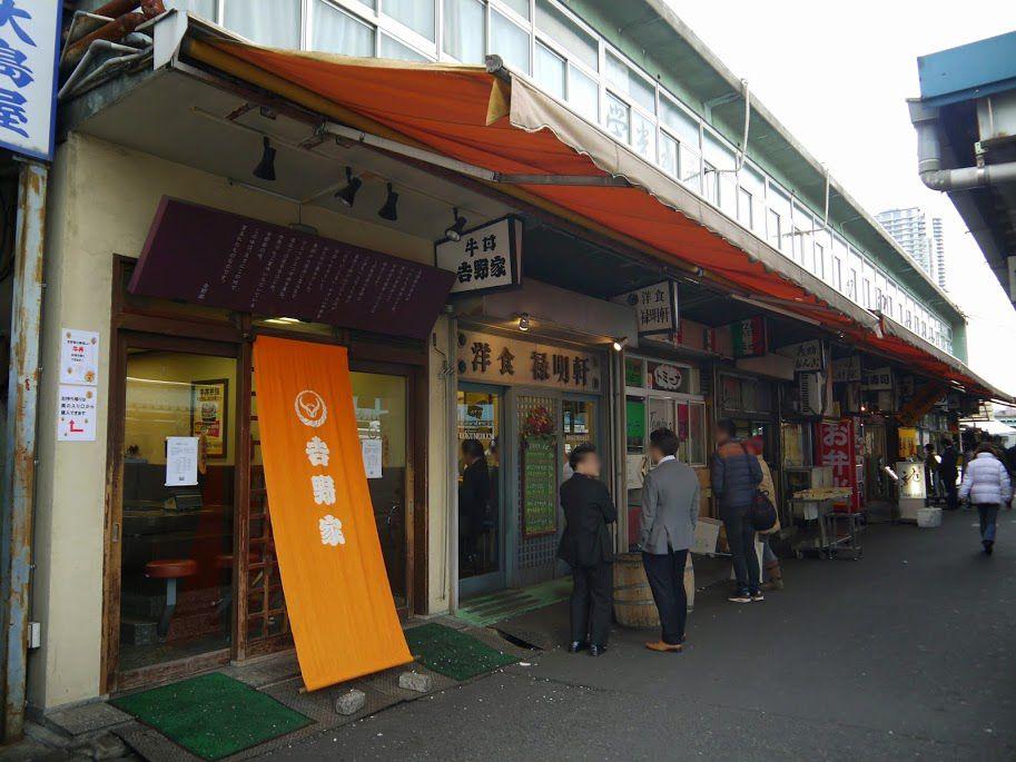 築地一号店は「日本で唯一牛丼販売にこだわり続けた」あの伝説の店