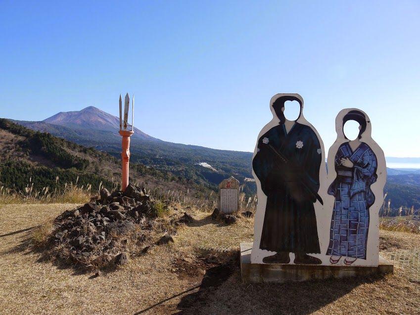 龍馬とおりょうゆかりの地で霧島観光「龍馬ルート巡り」