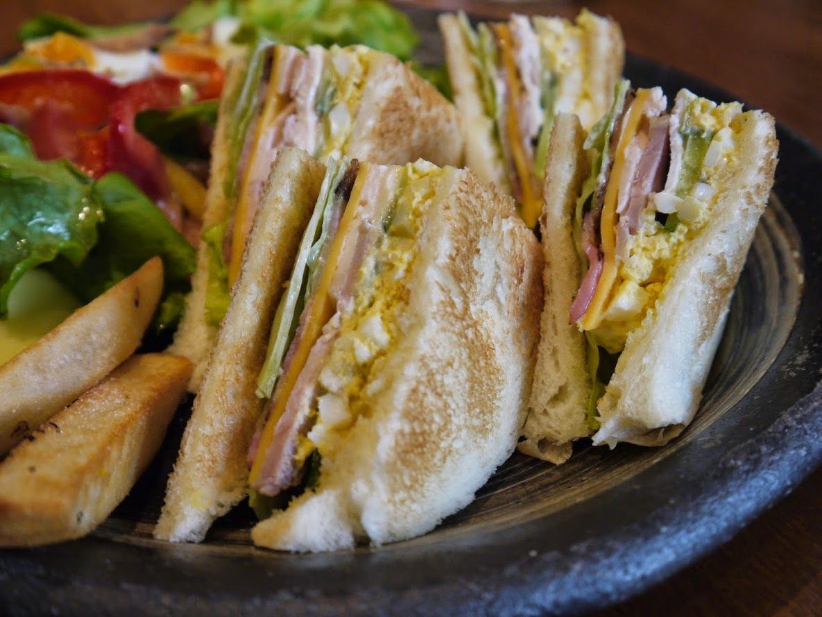 この店に来たら『サンドウィッチ』を食べましょう!