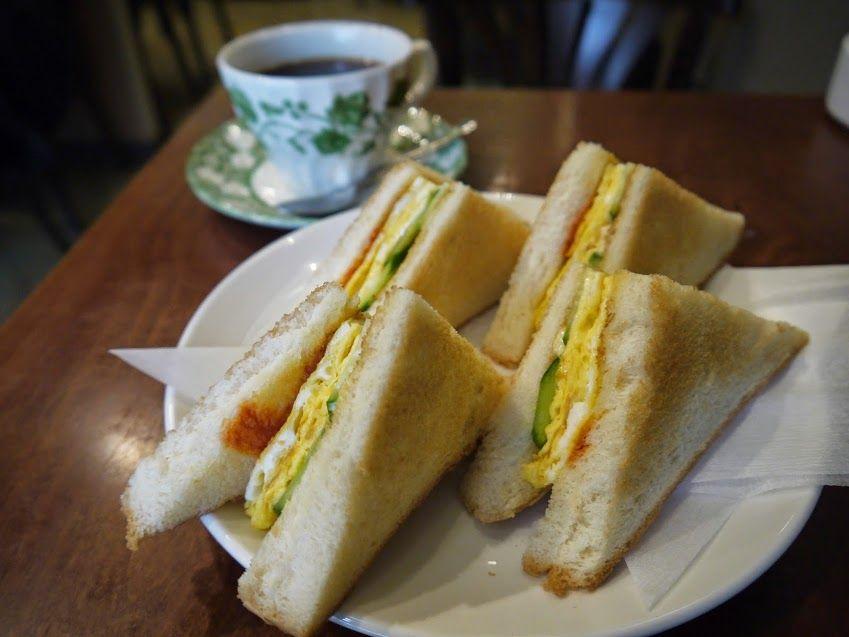 名古屋観光の朝はやっぱり喫茶店で「モーニング」