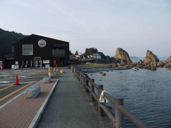 「道の駅くしもと橋杭岩」は絶景の休憩処!