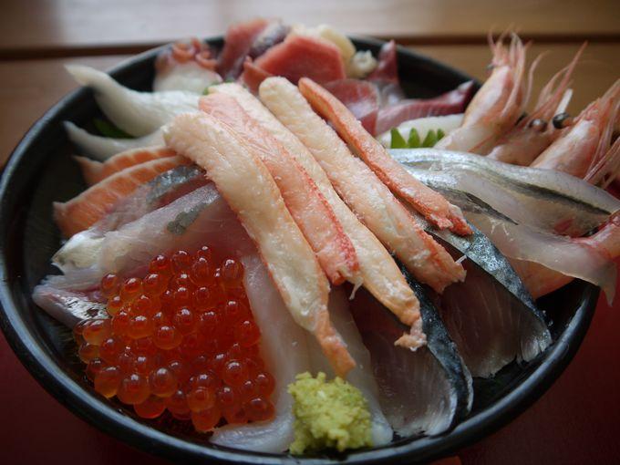 激ウマ!鳥取砂丘近くで一日50食だけの豪華な海鮮丼