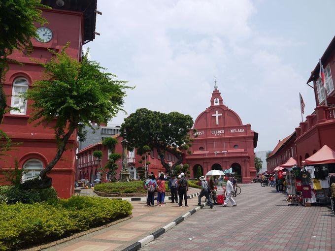 様々な文化が融合された独特な街並み。これが世界遺産マラッカだ!