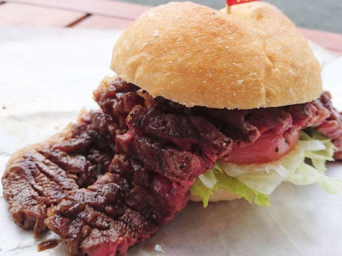 人生で一度は食べておきたい「近江牛ステーキバーガー」