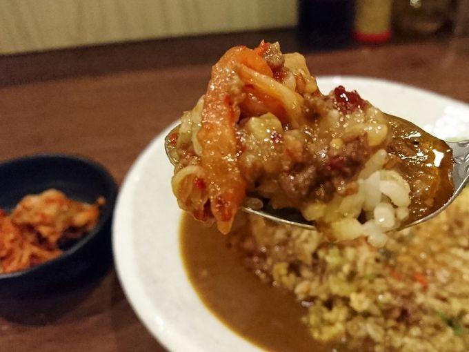 台湾カレーはキムチを入れると美味さがアップする!?