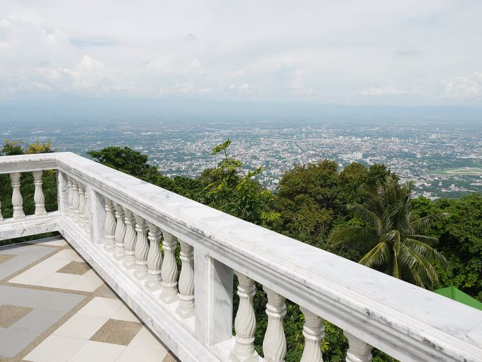 チェンマイ市街が一望できる絶景ポイント!