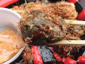 アツアツでござるよ!謎の黒い「忍者たこ焼」が大阪城に参上|大阪府|トラベルjp<たびねす>