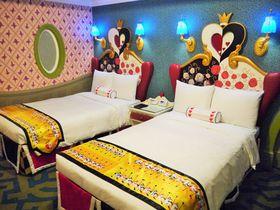 東京ディズニーランドホテル(R)「ふしぎの国のアリス」の世界観が広がる客室に泊まろ!|千葉県|トラベルjp<たびねす>