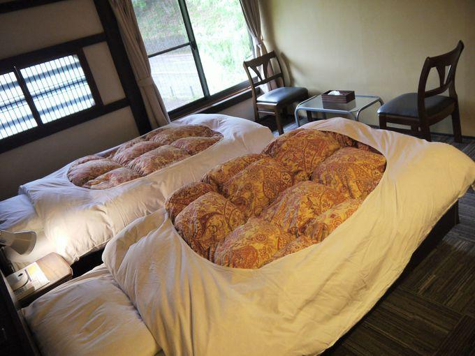 安く泊まるならドミトリー、ゆっくり泊まるなら個室