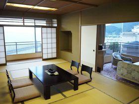 海景色が一望の部屋でゆっくりと!「ニューアワジ 夢大地」は家族旅行におすすめ|兵庫県|トラベルjp<たびねす>