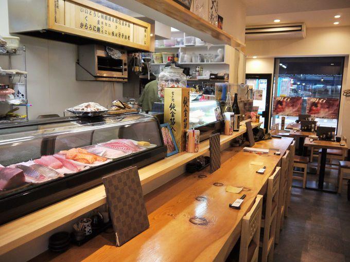 明石の海の幸を寿司で食べるならココ!