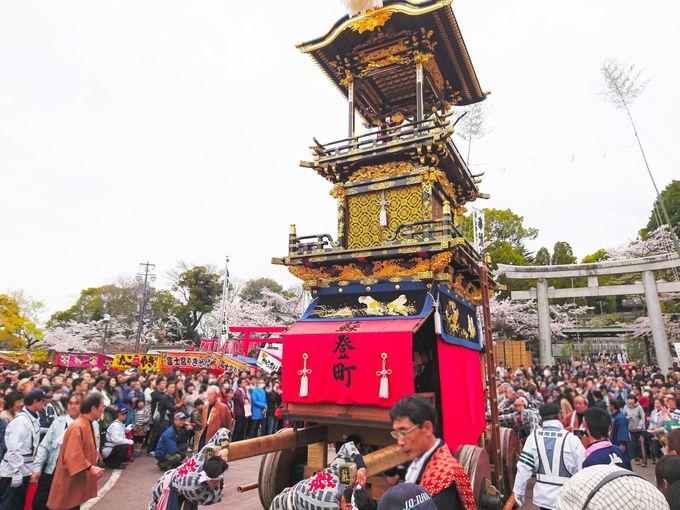 毎年4月の第一土日は「犬山祭」