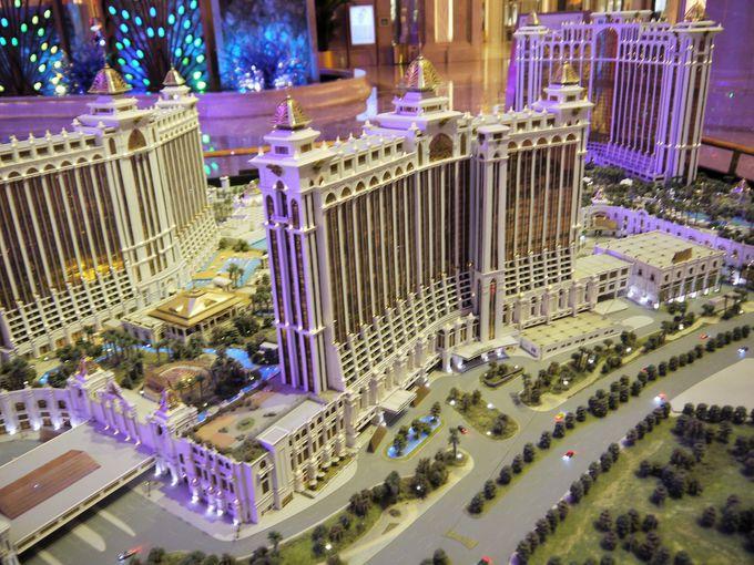 5つのホテルが入る!超巨大なギャラクシーマカオ