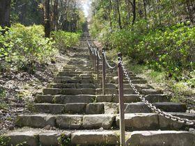 まるで天に向かう石段!大津皇子の眠る二上山の麓で奈良の古を想う|奈良県|トラベルjp<たびねす>
