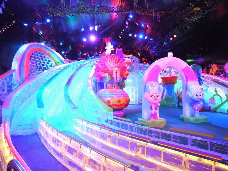幻想的で美しいアジア最大級の氷の世界!マカオ・アイス・ワールド