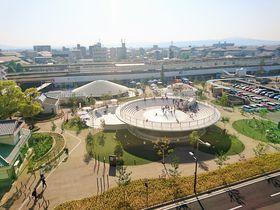 ここも!あそこも無料!子供の遊び場「天理駅前広場コフフン」|奈良県|トラベルjp<たびねす>