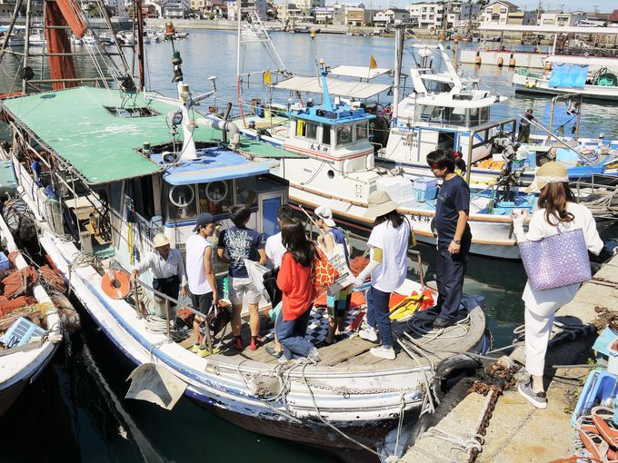 潮風がサイコー!漁船に乗って明石海峡クルージング