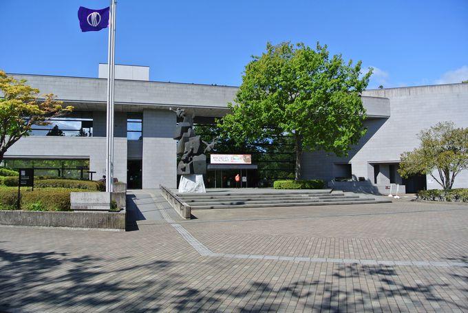 仙台城の入口・充実の総合郷土博物館