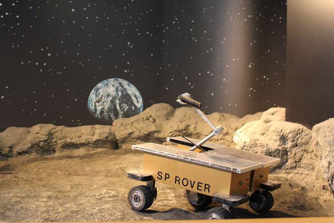 惑星探査車ローバの操縦体験も!