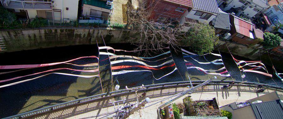 昭和初期〜30年代まで、300軒を超える染色関連業者が軒を並べていた街