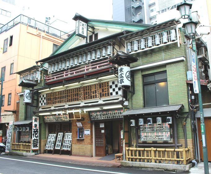 建物は新宿地域文化財第一号にも指定されている