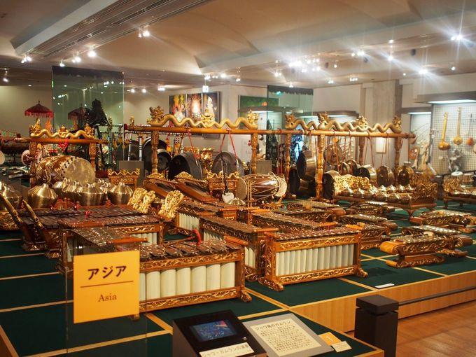日本とアジアの楽器 第一展示室