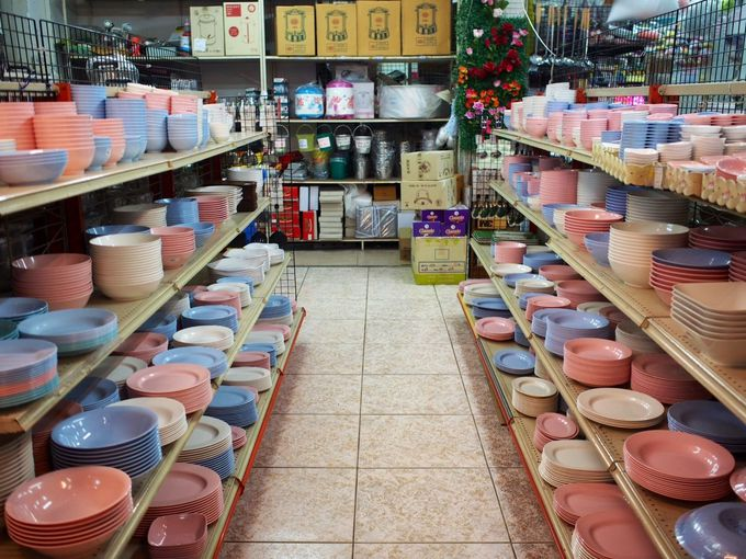 食器や日用品なら「チェンマイプラスチック」!