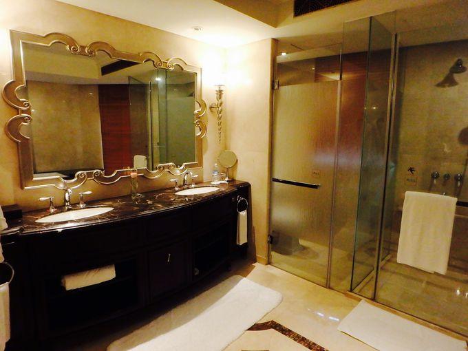 バスルームも広く、清潔!