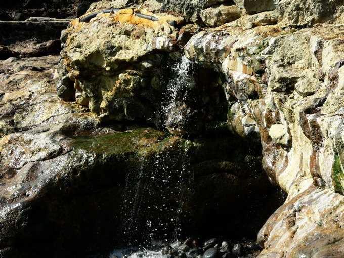 硫黄島「東温泉」