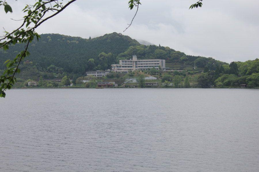 自然環境豊かな藺牟田池の絶景が望める温泉ホテル