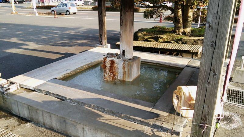 京町温泉は足湯も多い!「十兵衛の湯足湯」