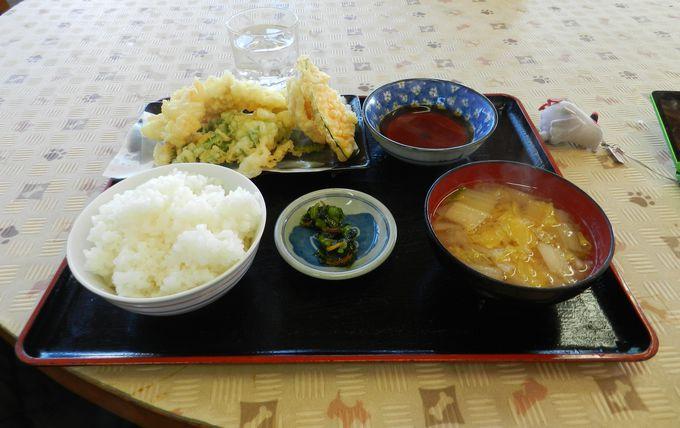 名物はナマズの天ぷら! お食事なら『道の駅 きたかわべ』へ