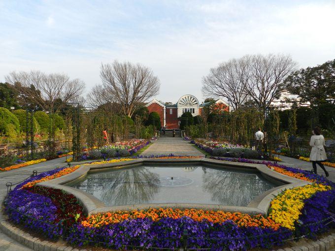 港の見える丘公園 −見晴らし抜群。花の香りあふれる高台−