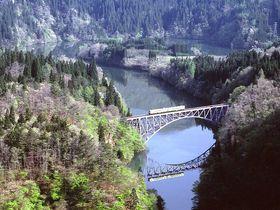 これぞ日本の原風景!福島県 JR只見線のビュースポットを巡る|福島県|トラベルjp<たびねす>