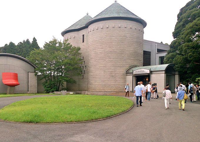 ヨーロッパ調の建物が美しい!DIC川村記念美術館。