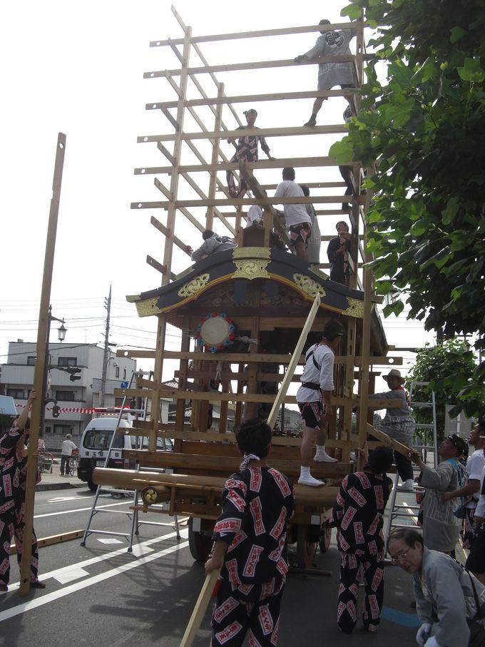 他のお祭りなら人形山車が続きますが久喜のお祭りはこれから!