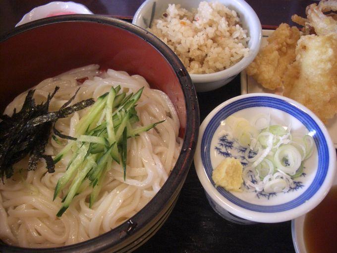 總願寺の参拝客に振舞ったのが加須のうどんの始まり!冷汁うどんの発祥のお店「子亀」
