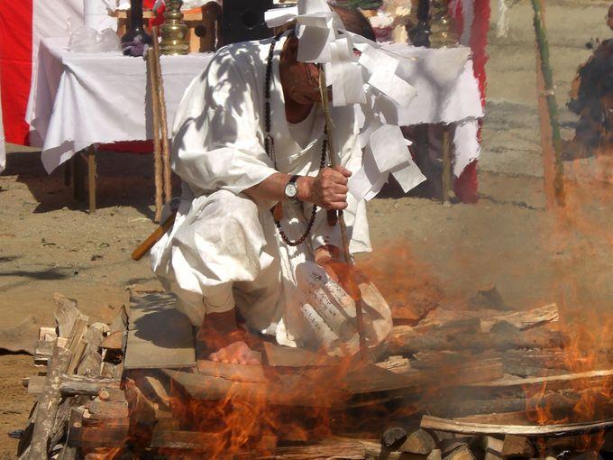 護摩の火は不動明王の智慧の象徴、火渡りで厄と煩悩を焼き払え!