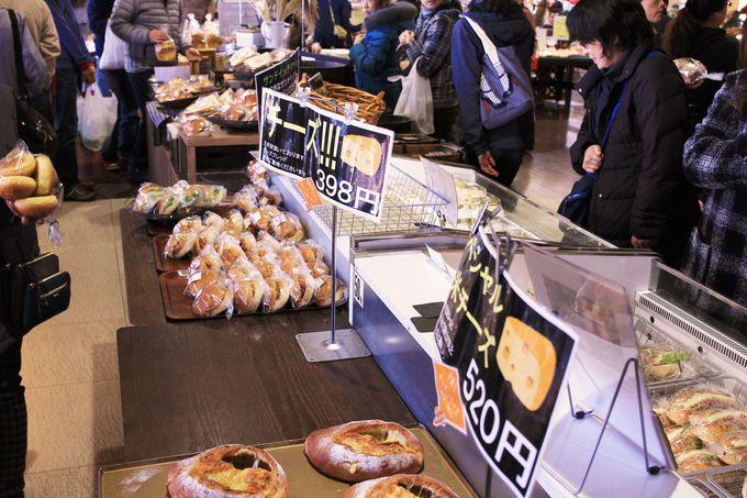 店内の釜で焼き上げたスペシャル玄米チーズや古河の野菜と玉子の玄米サンドは有名パン屋さんを凌ぐ味!