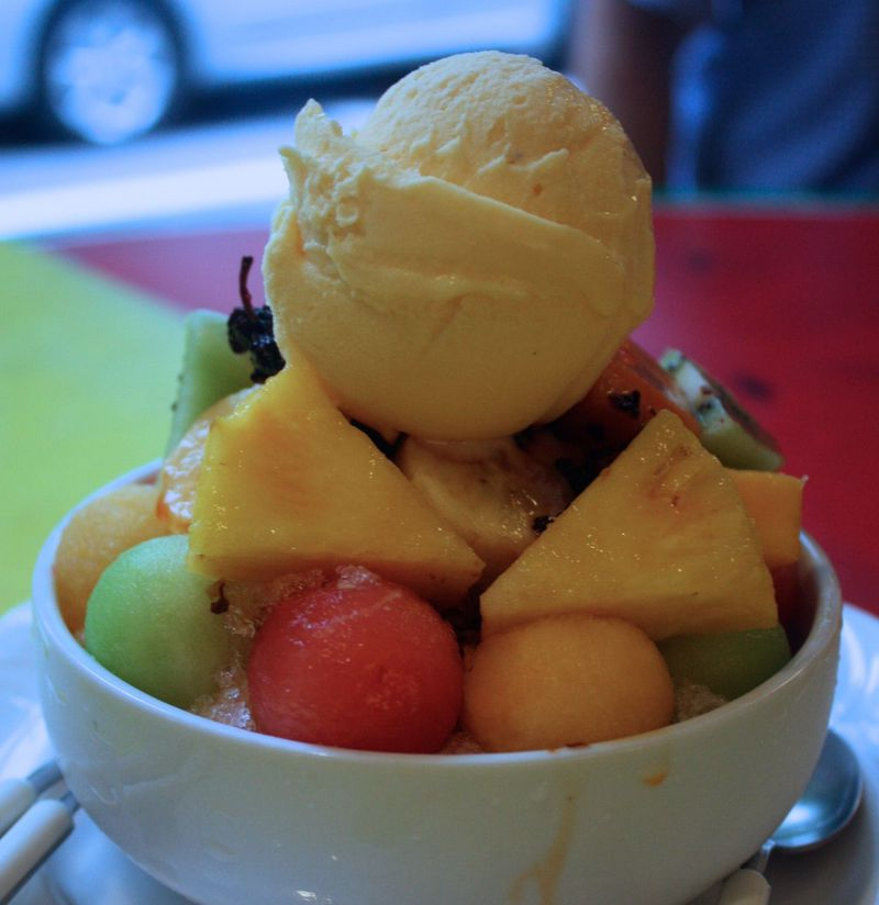 台湾かき氷の必食2店!台北「百果園」&「アイスモンスター」