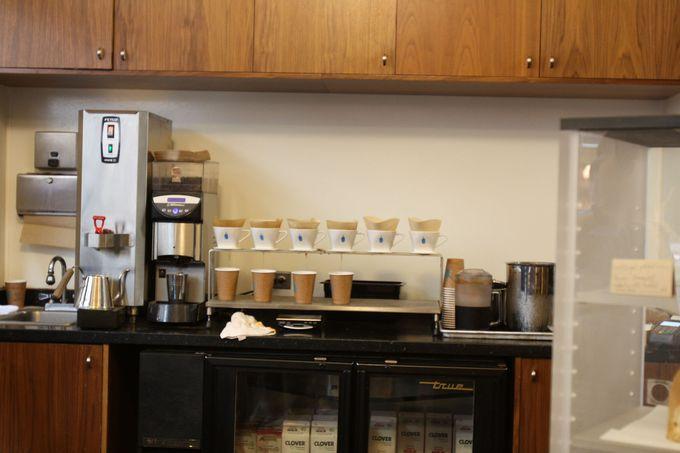 焙煎後48時間以内のコーヒーしか出さないフレッシュさ!