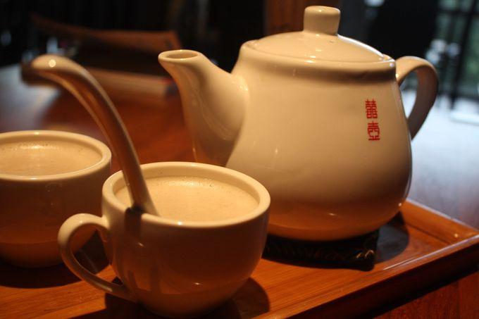 寒い日はこれっ!甘あったかい「薑汁奶茶」